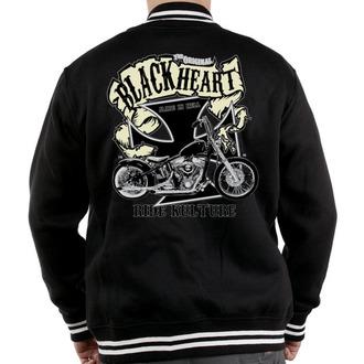 jopa s kapuco moški - Motorno kolo K. - BLACK HEART, BLACK HEART
