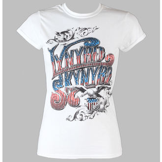 majica kovinski ženske Lynyrd Skynyrd - Usa Flag Logo - LIVE NATION, LIVE NATION, Lynyrd Skynyrd