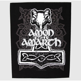 Našitek velik - Amon Amarth - Hammer - RAZAMATAZ, RAZAMATAZ, Amon Amarth