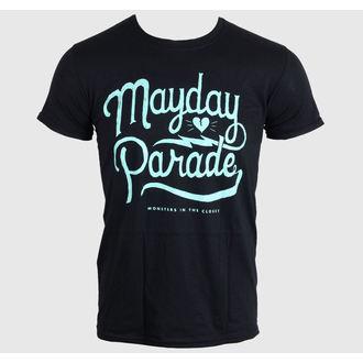 Metal majica moški Mayday Parade - SCRIPT -BLACK - LIVE NATION, LIVE NATION, Mayday Parade