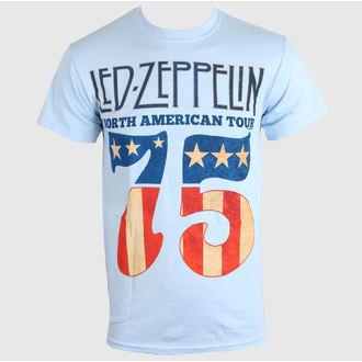 majica kovinski moški Led Zeppelin - US 75 - LIVE NATION, LIVE NATION, Led Zeppelin