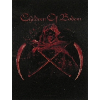 zastava Children of Bodom - Crossed Scythes, HEART ROCK, Children of Bodom