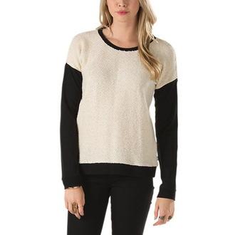 pulover ženske Vans - Clockwork Crew - Krem, VANS