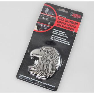 dekoracija (do avto) LETHAL THREAT - Eagle Vodja Emblem (Eagle Kljun Soočenje Levo), LETHAL THREAT