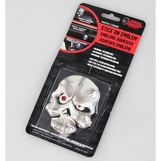 dekoracija (do avto) LETHAL THREAT - Eyeball Skull Emblem, LETHAL THREAT