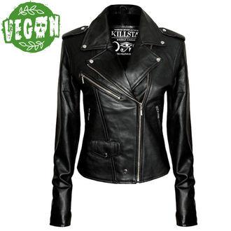usnje jakna ženske - Vegan Biker - KILLSTAR, KILLSTAR