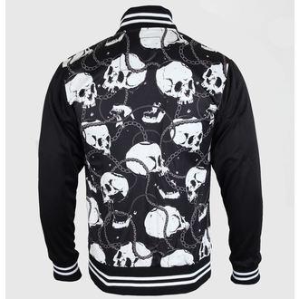 spomladi / jeseni jakno moški - Skull & Chains - LIQUOR BRAND, LIQUOR BRAND
