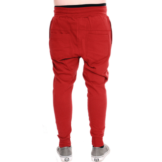hlače unisex (sweatpants) 3RDAND56th - Carrot Fit Jogger - Claret, 3RDAND56th