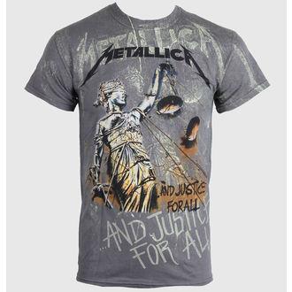 majica moški Metallica - Pravosodje Neon Vse - Več Premium - V ŽIVO NATION - PEMTL0990