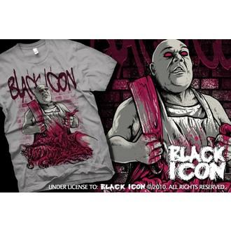 majica hardcore moški - Grey - BLACK ICON, BLACK ICON
