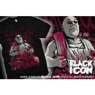 majica hardcore moški - Black - BLACK ICON, BLACK ICON