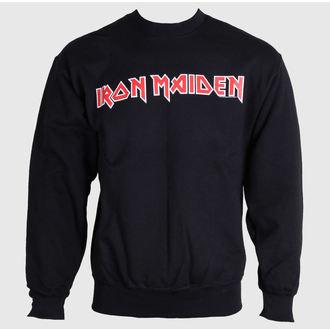 jopa s kapuco moški Iron Maiden - Logo - ROCK OFF, ROCK OFF, Iron Maiden