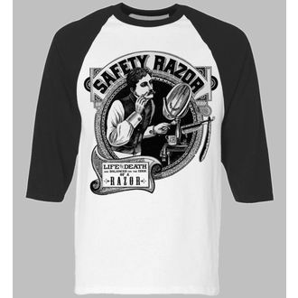 majica hardcore moški - Safety Razor BaseBall - SE7EN DEADLY, SE7EN DEADLY