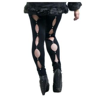 hlače ženske (gleženj) NECESSARY EVIL - Circe - Črno, NECESSARY EVIL