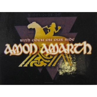 Zastava Amon Amarth - With Oden Your Side, HEART ROCK, Amon Amarth