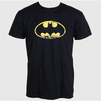 film majica moški Batman - Distressed Logo - LIVE NATION - PE10777TSBP