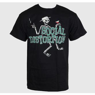 majica kovinski moški Social Distortion - Letterman Skully - BRAVADO, BRAVADO, Social Distortion