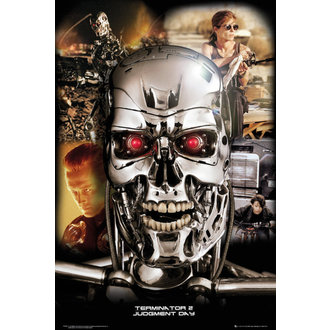 plakat Terminator 2 - Collage - GB Posters, GB posters