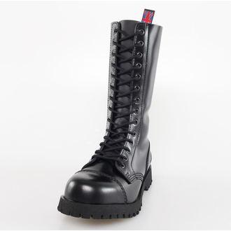 čevlji NEVERMIND - 14 očesca - Black Polido, NEVERMIND