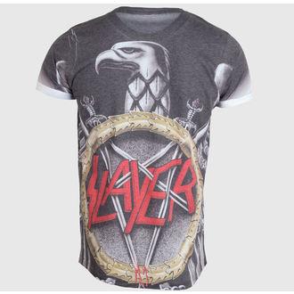 majica kovinski moški Slayer - Silver Eagle - ROCK OFF, ROCK OFF, Slayer