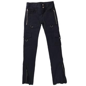 hlače ženske HERD USNJE STUFF - Black, NNM