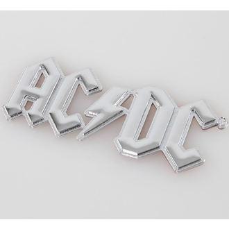 nalepka 3D AC / DC - Chromlogo, F.B.I., AC-DC