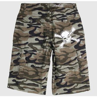 kratke hlače DARKSIDE - Black, DARKSIDE