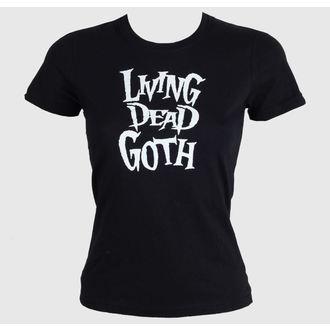 majica ženske - Living Death Goth - BAT ATTACK, BAT ATTACK