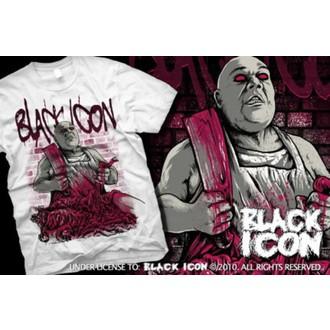 majica hardcore moški - White - BLACK ICON, BLACK ICON