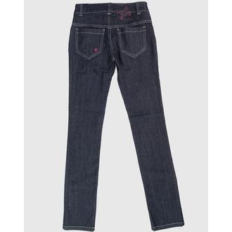 hlače ženske HELL BUNNY - Blue, HELL BUNNY