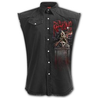 Moški Top (srajca brez rokavov) SPIRAL - REAPING TOUR - Črna, SPIRAL