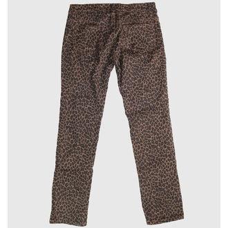 hlače ženske COL LECTIF - Leopard, NNM