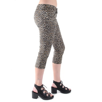 hlače 3/4 ženske 3RDAND56th - Leopard, 3RDAND56th