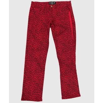 hlače ženske COL LECTIF - Red, NNM