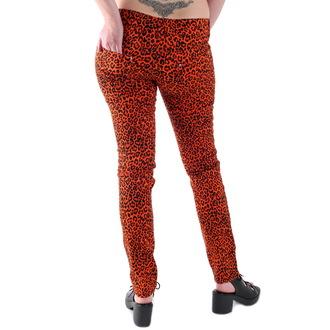 hlače ženske 3RDAND56th - Leopard, 3RDAND56th
