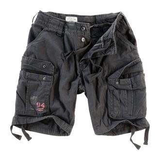 kratke hlače moški SURPLUS - Airborne Vintage - Črno, SURPLUS