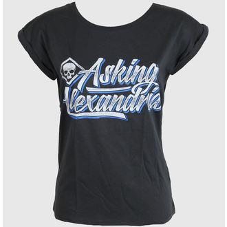 Ženska metal majica Asking Alexandria - Cripto - Siva - PLASTIC HEAD, PLASTIC HEAD, Asking Alexandria