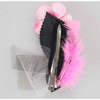 sponka za lase Pink Skelet