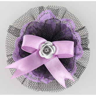 sponka za lase Vijolična