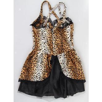 obleko ženske BLACK PISTOL - Punk - Leopard, BLACK PISTOL