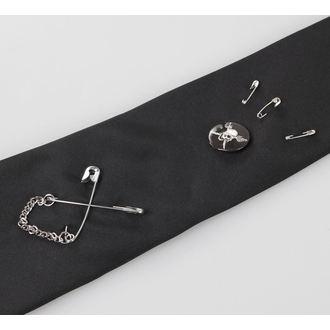 kravata QUEEN OF DARKNESS - Black, QUEEN OF DARKNESS