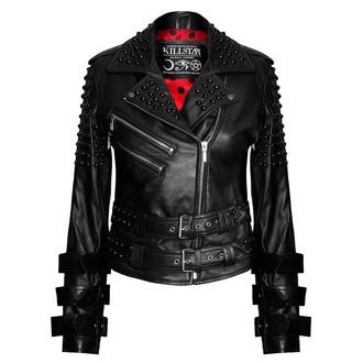 usnje jakno ženske - Buckled Leather - KILLSTAR, KILLSTAR