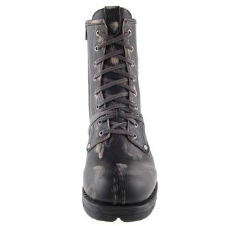usnje čevlji moški - Motorosk Negro - NEW ROCK - M.MR001-C4