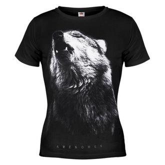 majica hardcore ženske - Wolf - AMENOMEN - OMEN036DA