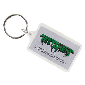 ključ prstan (obesek) Testament - Logo, C&D VISIONARY, Testament