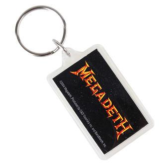 ključ prstan (obesek) Megadeth - Logo, C&D VISIONARY, Megadeth