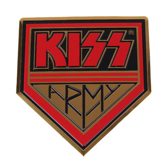 nalepka majhna Kiss - Vojska, C&D VISIONARY, Kiss