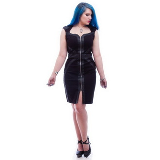 obleko ženske NECESSARY EVIL - Gothic Luna - Črno, NECESSARY EVIL