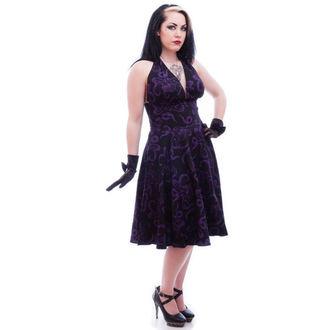 obleko ženske NECESSARY EVIL - Feronia 50s - Črno, NECESSARY EVIL