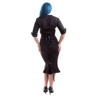 majica ženske NECESSARY EVIL - Belisama Poplin - Črno, NECESSARY EVIL